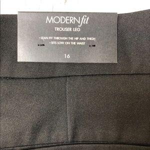 Ann Taylor Modern Fit Trouser Leg Pants Size 16